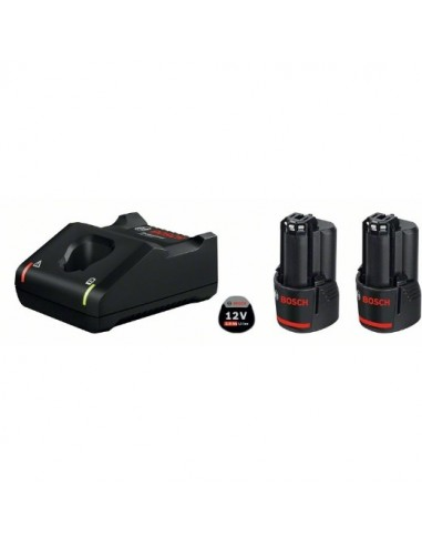 Power set: 2 batería de 12V - 2,0Ah +...