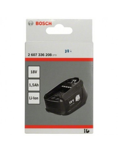 Batería enchuf  DIY 18V:1,5Ah: Liti